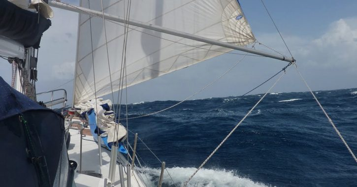 What are sailboats made of?