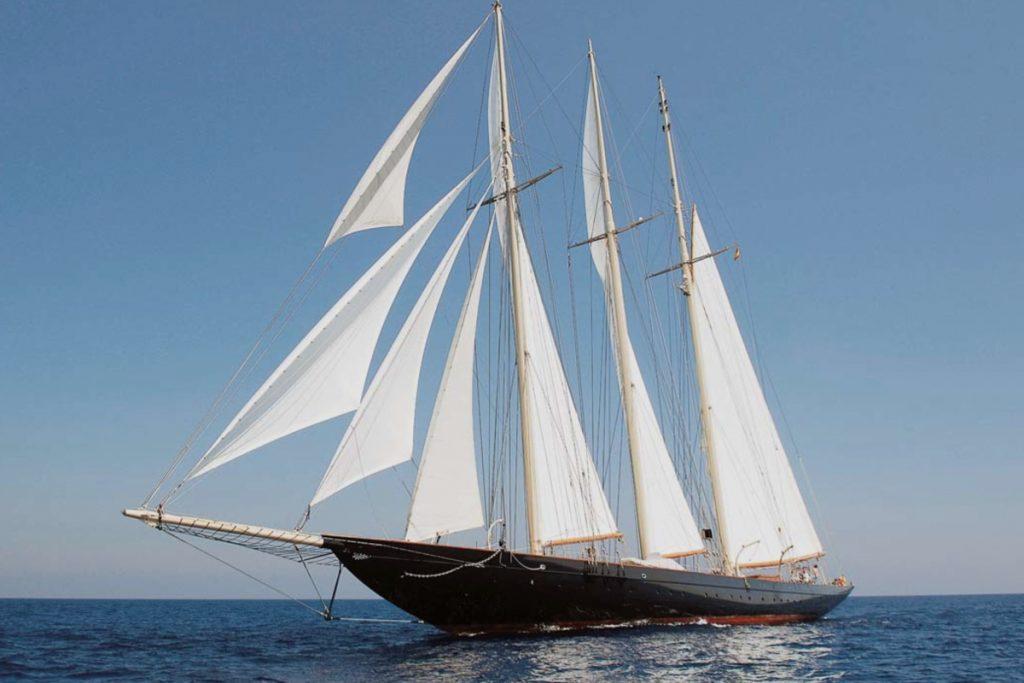 Los veleros más espectaculares: un lujo selecto