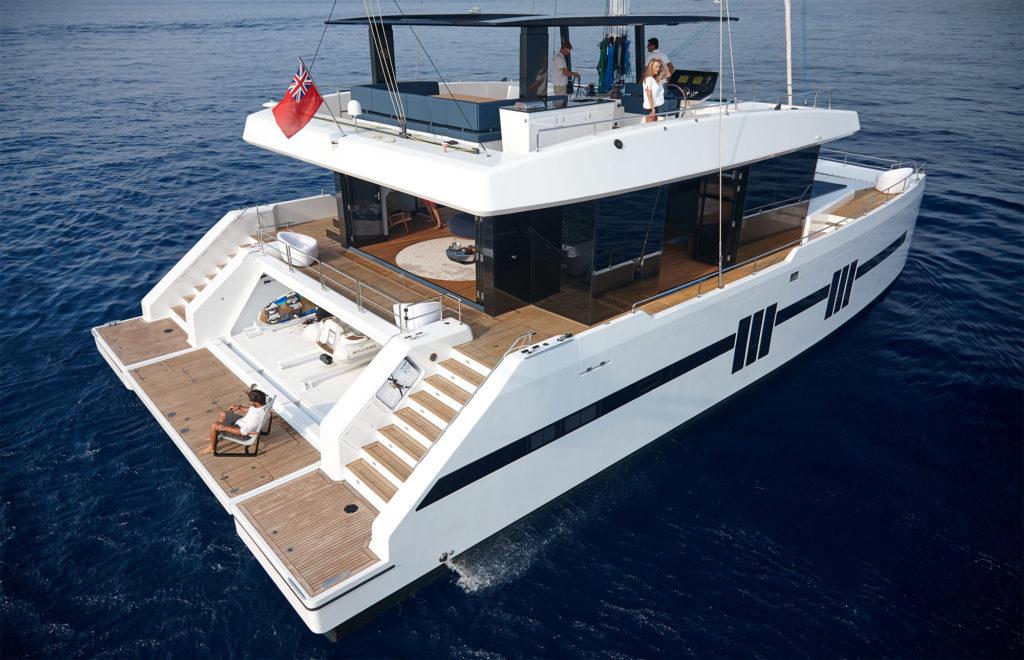 Midori Alquiler Catamaran Aerial