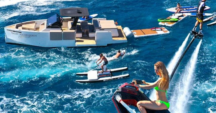 Water toys for your yacht