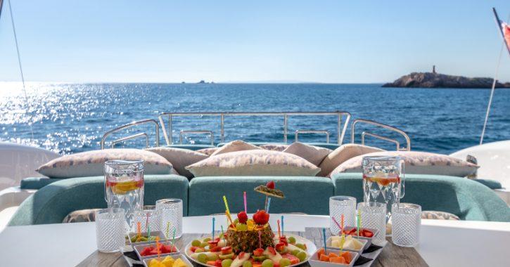 Overnight yacht charter in Ibiza
