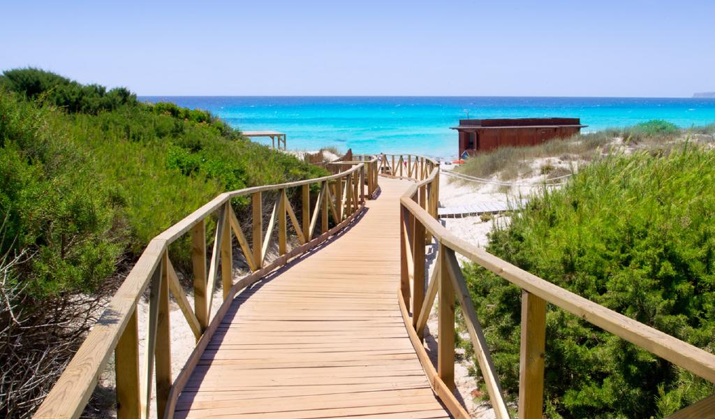 Es Arenals, Formentera
