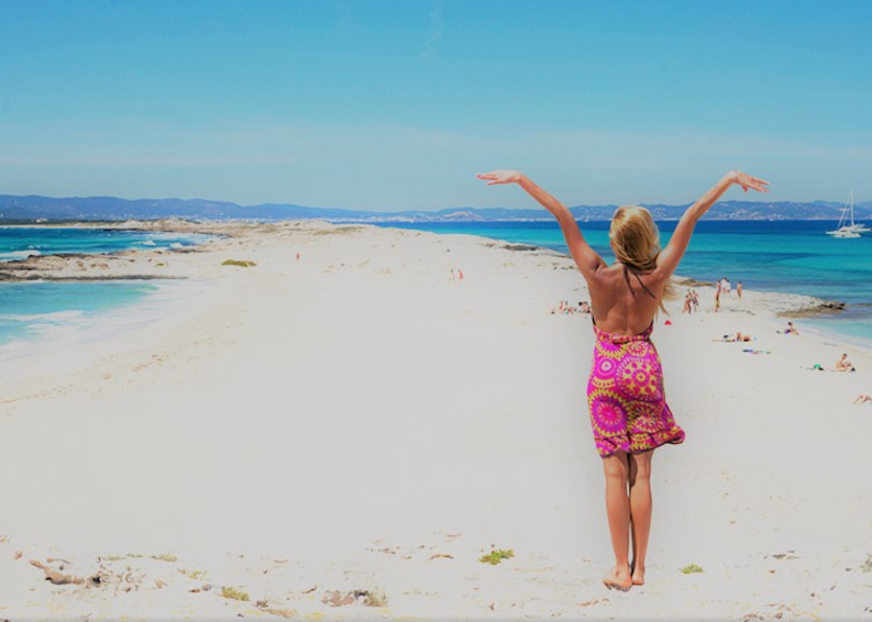 The most beautiful beaches of Formentera